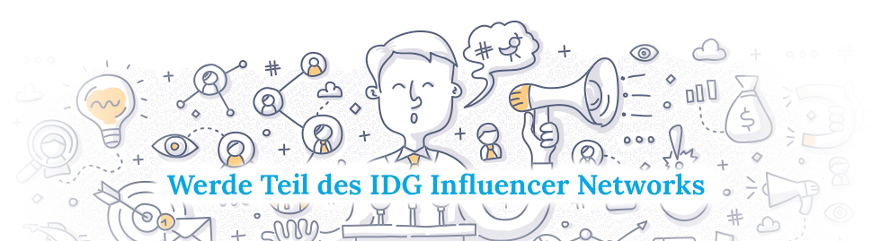 Logo des IDG Influencer Networks